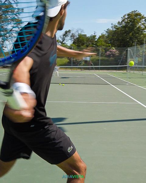 coup droit tennis